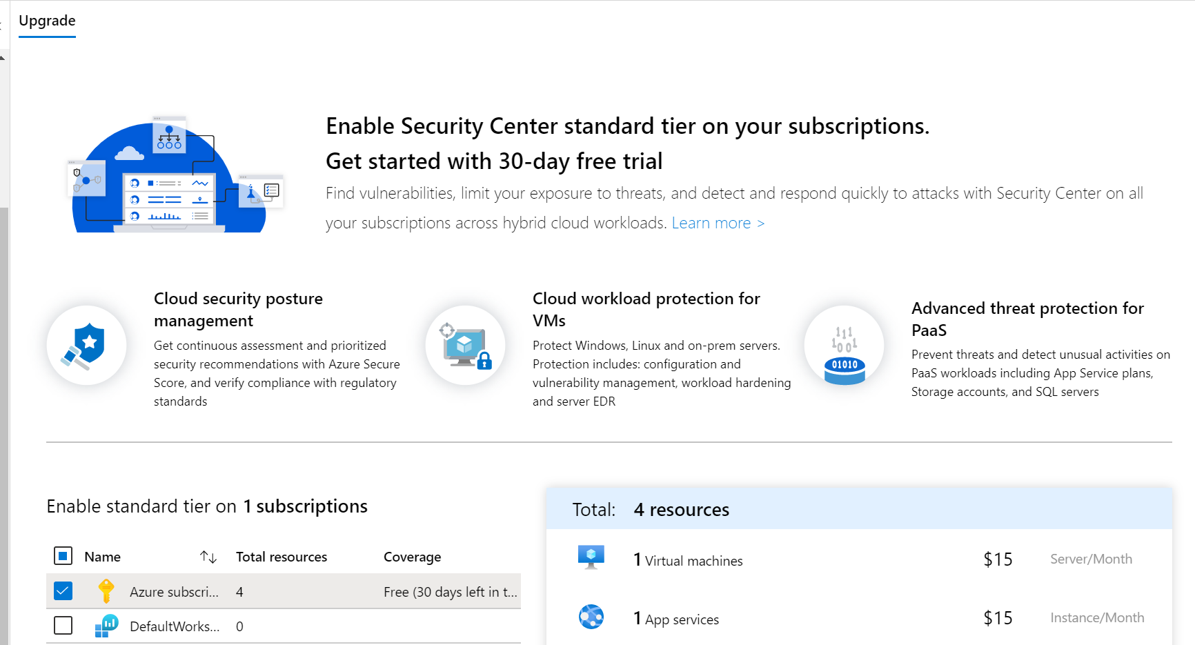 Get started with Security Center