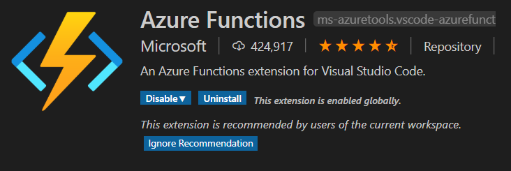 Functions Extension